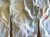 2t lot all for $15.00 -3prs of jeans 2pr have