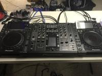 2x Pioneer CDJ-2000 Nexus and DJM-2000 Nexus Mixer