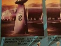 Event Type:SportsTwo tickets to Super Bowl XLIX on