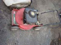Heres 2x toro self propelled lawn mowers. I know the