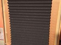 NEW, never used Two 24X48X2 wedge-style foam panels