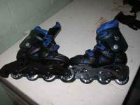 I have a used set of inline skates in good condition