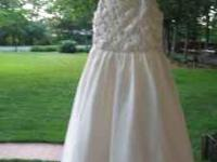 1st dress is like new!! size 6x color ivory accented