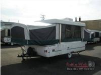 1998 Colman Cheyenne pop-up . One owner. 1 King bed , 1
