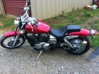 We are selling a 2006 Honda 750 Shadow Spirit. We are
