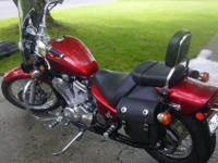 2007 Honda Shadow VLX 600 Deluxe. Very clean bike kept