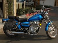 2009 blue Honda Rebel (250cc) bought brand new in 2012.