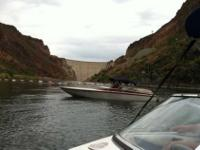 I have a 22ft jet boat mini day cruiser in terrific