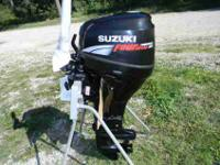 Southcentral Outboards recently bought out a Suzuki