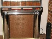 Jukebox 1953 Seeburg Select 100 Fonzie Style! -