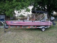 This is a 1994 15 foot by 11 inches made by fin and