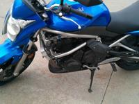 I have a 2009 Kawasaki Er 6n (the naked ninja 650) for