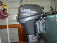 Yamaha 9.9 motor, like new. Also included, 14 foot