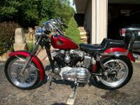 1968 Sportster XLCH kick start only. 1000 cc top end.