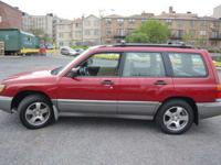 1999 Subaru Forester The Subaru Forester isn't a