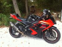 2007 gsxr 1000 has around 18k miles but i drive it so