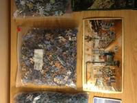 "I have 3 1000 piece Puzzles. 1)""Gathering at store"""