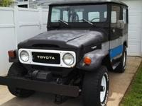 This FJ40 was born in July 1979. It was a light Toyota