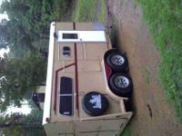 For Sale 1983 Travelite 2 Horse BP Horse Trailer Step