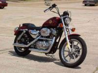 This 1995 Harley Davidson 883 Sportster is simply one