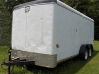 For sale by Owner 7x16 enclosed trailer good condition