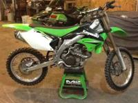 Very clean 2006 kx450f. Maybe 12-15 hours since new.