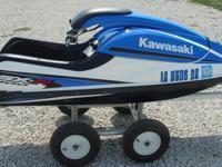 2008 Kawasaki Sxr 800 stand up jet ski. This ski is in