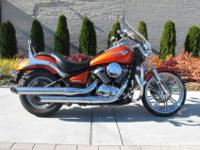2009 Kawasaki Vulcan Custom 9004200 miles!Burnt Orange