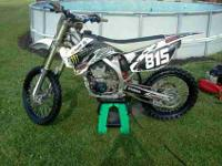 i have a very nice 2009 yz250f. this bike has had oil