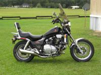 1100cc v4 Sport Cruiser looks & runs great. No
