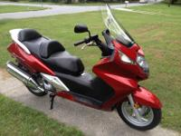 Honda Silverwing for sale. It has 26k miles, and just