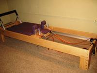 This near-new Peak Pilates Classic Reformer comes with