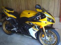 2006 Yamaha R1-LE #42 of 500 that I ordered brand new