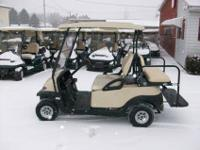 2008 Club Car Precedent Gas Golf Cart, four Passenger,