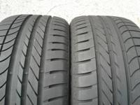 2 - 255/40/19 -- Goodyear Eagle F1 Asymmetric AO - Two