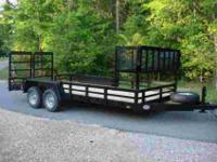 Brand New Landscape Trailer Loaded with Every Option