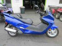 2006 HONDA REFLEX (NSS250), Candy Blue, where will you