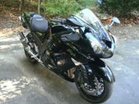 Blue1,352cc4,350milesSport Bike ZX14R2008 Kawasaki ZX14