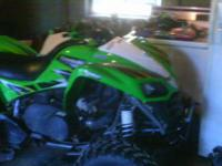 I have for sale a 2007 kfx 700 asking $3300 obo. This