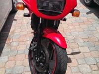 I am selling a 2008 Ninja 500 with helmets, gloves and