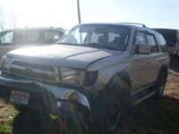 I have for sale a 1999 Toyota 4-Runner 4x4 SR5 3.4 V6.