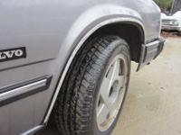 this volvo is in good running condition, it is also