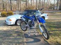 This is a Brand New Bike. YZ250 F . NEVER RACED or even
