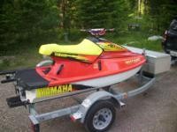 1996 YAMAHA WAVE BLASTER TWIN CARB WITH DOUBLE EZ