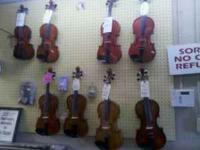 3/4 Cello with case and bow $300.00, Violins and Violas