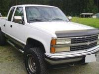 This is a 1992 3/4 ton Chevy 4X4. We are looking to do