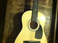 Asheville 3/4 junior guitar.  No cracks, has all the