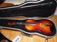 3/4 Violin from White Brothers, good condition comes