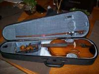3/4 Violin w/case paid $350 for and it was used for 6