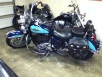 Listing my 1995 honda shadow with almost 39000 miles.